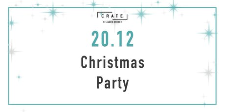 12 days of CRATEMAS - Day 8 Friday Night Christmas Party with DJ Terron tickets