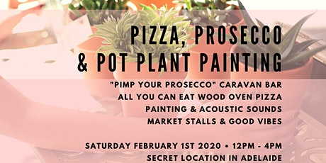 Pizza, Prosecco & Pot Plant Painting No. 2 tickets