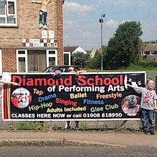 Diamond School of Performing Arts logo