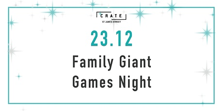 12 days of CRATEMAS - Day 11 Family Game Night tickets