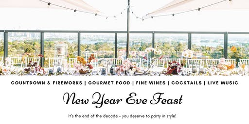 NYE Feast In a Luxury Penthouse With Views of All the Fireworks
