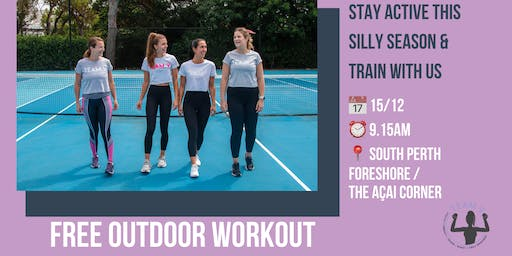 Free outdoor workout
