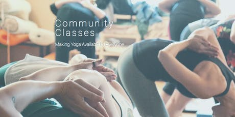 Create Happy Thoughts Class Pass Slow Flow & Yin Yoga tickets