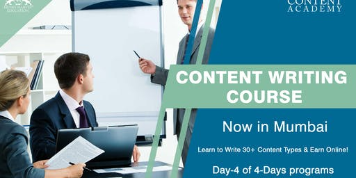 Day 4 Content Writing Coursein Mumbai