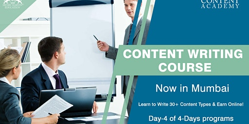 Day 4 Content Writing Coursein Mumbai