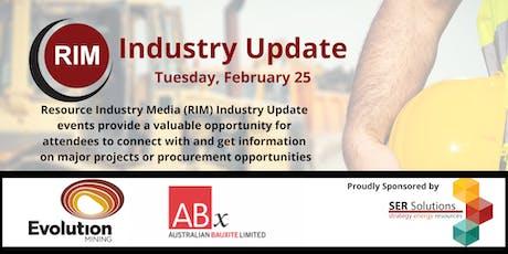 RIM Industry Update tickets
