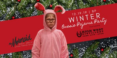 Winter Onsie Pajama Party