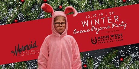 Winter Onsie Pajama Party tickets