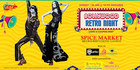 Bollywood Retro Night tickets
