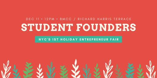 BMCC Student/Alumni Entrepreneur Holiday Fair (NYC's 1st!)