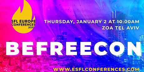 #BeFreeCon - Students for Liberty Israel, Regional Conference tickets