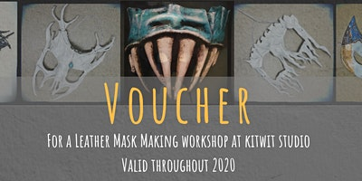 Voucher for Leather Mask Making