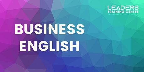 BUSINESS ENGLISH - COURSE DEMO tickets