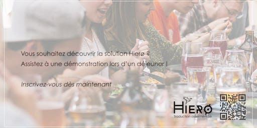 HIERØ, Déjeuner networking