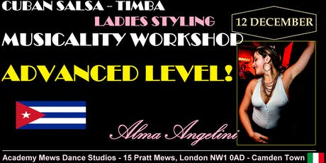 Cuban Salsa - Timba Ladies Styling - Advanced level! tickets