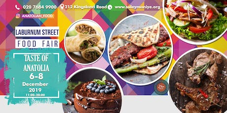 Laburnum Street Food Fair ~ Turkish Food Event tickets