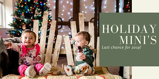 Holiday mini photo sessions