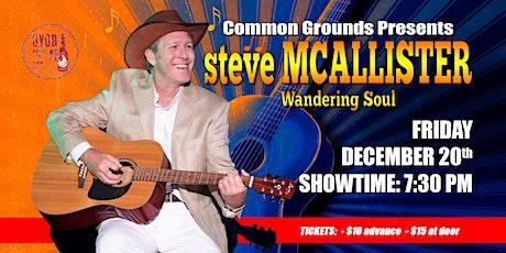 Steve McAllister: Wandering Soul tickets