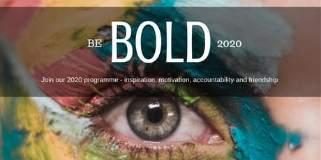 BOLD Goals Circles - Manchester Membership 2020 tickets