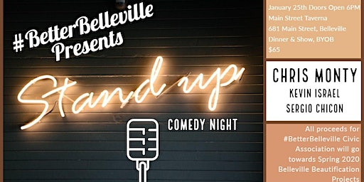 1st Ever #BetterBelleville Comedy Show Fundraiser!