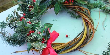 FREE Festive Wreath Making Workshop with Natural Materials tickets