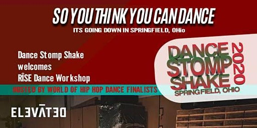 Dance Stomp Shake Presents: RISE WORKSHOP  Hosted by World of Dance Finalists: Elevated