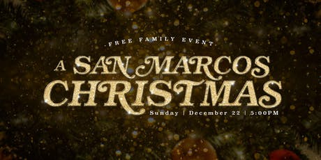 A San Marcos Christmas tickets
