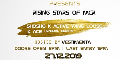 Ent First Presents - RISING STARS OF MCR tickets