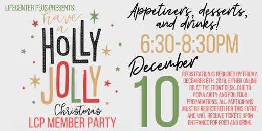 LifeCenter Plus Member Holiday Party 2019