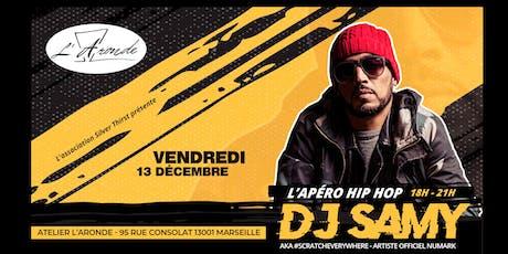 L'Apéro Hip Hop avec DJ SAMY @ Atelier l'Aronde tickets