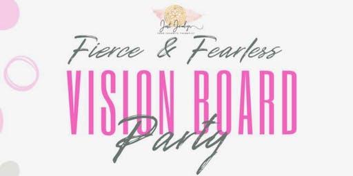 Fierce & Fearless Vision Board Brunch- Houston, TX.