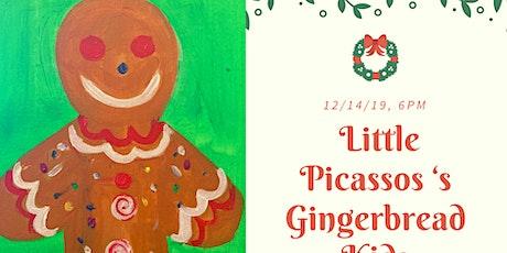 Kid's Christmas Paint Class tickets