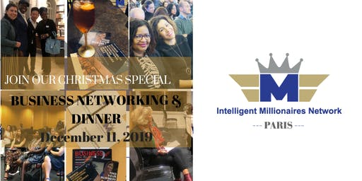IMN PARIS Christmas Special : Business Networking & Dinner