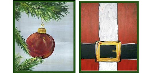 Christmas Paint & Takes Presented by The Artists' Garden