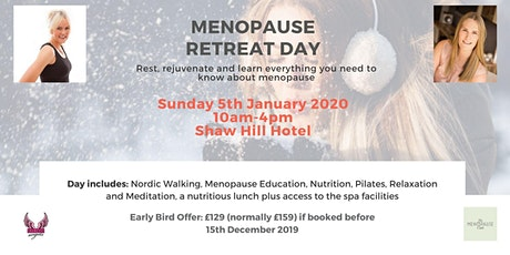 Menopause Retreat Day tickets