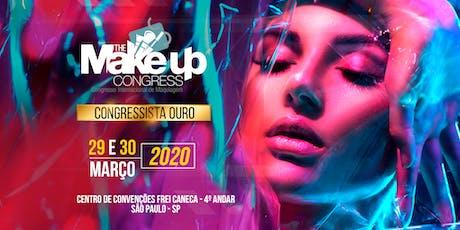 SETOR OURO - The Make-up Congress - Congresso Internacional de Maquiagem - São Paulo-SP ingressos