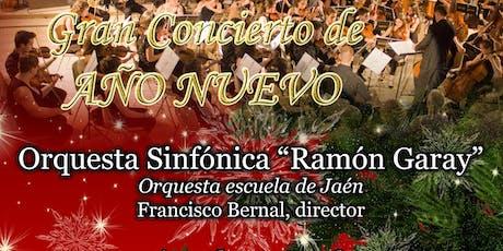 Concierto de Año Nuevo en Jaén - Orquesta Sinfónica Ramón Garay entradas