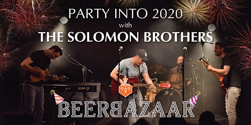 Solomon Brothers 2020 New Year's Bash - STANDING ONLY