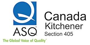 ASQ Section Meeting - Take Back Manufacturing - Dec...