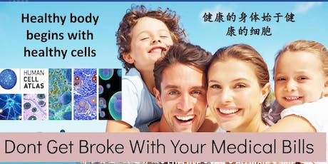 Discover How Your Body Can Heal Itself (English, Mandarin & B. Msia) tickets