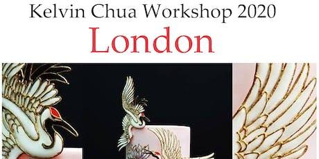 Kelvin Chua sugar-designer workshop London 2020 tickets