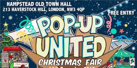 Pop Up United Christmas Fair tickets