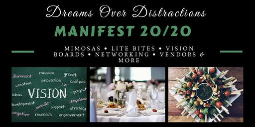 ManiFest 20/20. Vision Board Party
