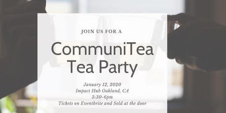 CommuniTea Tea Party tickets