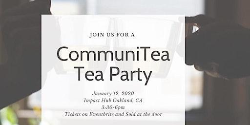CommuniTea Tea Party