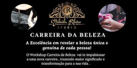 Workshop Carreira da Beleza ingressos