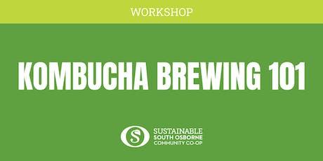 Kombucha Brewing 101 tickets