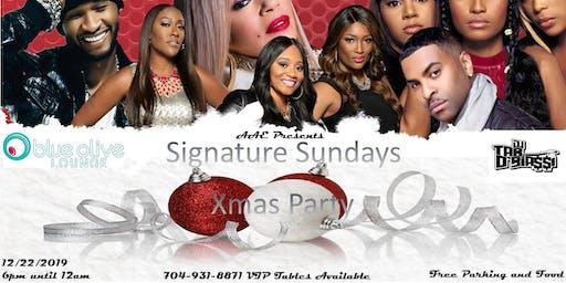 Signature Sundays Xmas Party