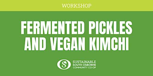Fermented Pickles and Vegan Kimchi Workshop