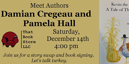 Kevin the Turkey book event